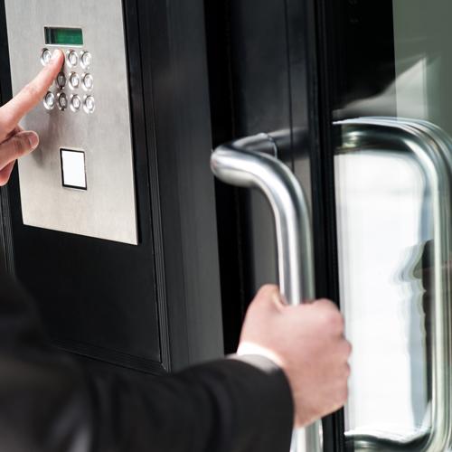 Commercial Locksmith - Door digital lock